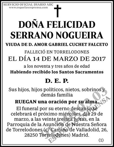 Felicidad Serrano Nogueira